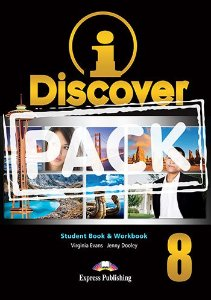 i-DISCOVER 8 STUDENT'S BOOK & WORKBOOK (WITH DIGIBOOKS APP)