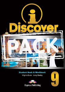 i-DISCOVER 9 STUDENT'S BOOK & WORKBOOK (WITH DIGIBOOKS APP)