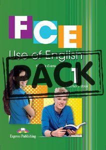FCE USE OF ENGLISH 1 TEACHER'S BOOK (WITH DIGIBOOKS) (NEW-REVISED)