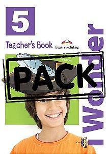 iWONDER 5 TEACHER'S BOOK (WITH POSTERS) (INTERNATIONAL)