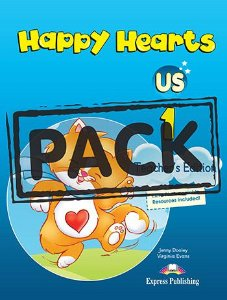 HAPPY HEARTS US 1 TEACHER'S BOOK (WITH POSTERS)