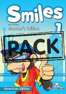 SMILES 1 US TEACHER'S BOOK (WITH POSTERS)