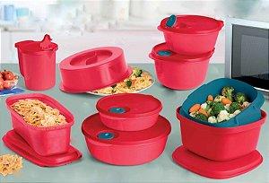 Tupperware Kit Para Microondas 8 Peças