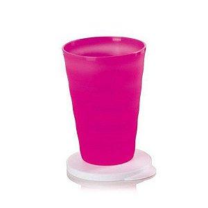 Copo Murano 500ml Rosa Neon