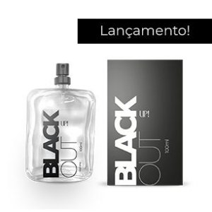 PERFUME UP! BLACK OUT - MASCULINO 100ML - REF OLF: 212 VIP Black
