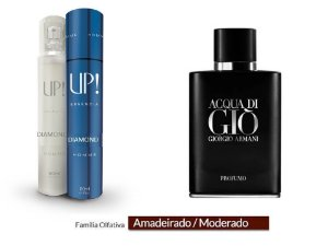 PERFUME UP! DIAMOND - AQUA DI GIO PROFUMO ARMANI* - MASCULINO 50ML