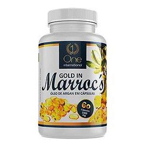 GOLD IN MARROCOS - ÓLEO DE ARGAN - 60 CÁPSULAS