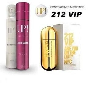 PERFUME UP! ESTORIL – 212 VIP* – FEMININO 50 ML