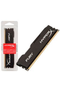 Memória Kingston HyperX FURY 4GB 1866Mhz DDR3 CL10 Black Series - HX318C10FB/4