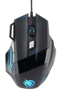 Mouse Gamer Fortrek Óptico USB Black Hawk 2400 dpi OM703