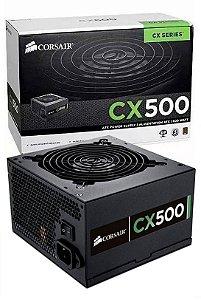 Fonte Atx 500w Corsair Cx500 80plus Bronze Cp-9020047