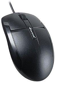 Mouse Óptico Fortrek 1000dpi USB Preto OM-101- 38537