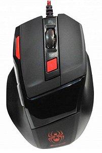 Mouse Gamer Fortrek Spider OM701 PT