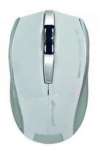 Mouse Fortrek USB 1000DPI OM301 Óptico Branco - 38550
