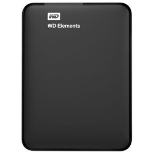 HD Externo Portátil WD Elements Preto 1Tb USB 3.0