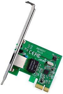 TP-Link Adaptador de Rede Gigabit PCI Express TG-3468 10/100/1000Mbps 2.0