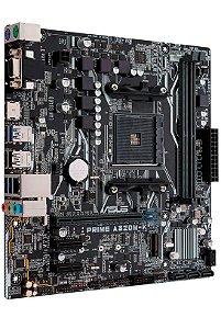 Placa-Mãe ASUS p/ AMD AM4 mATX PRIME A320M-K/BR, 2x DDR4, Suporte de saída Multi-VGA/HDMI/RGB, AI Suite 3, Ai Charge, ASUS Fan Xpert