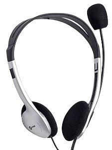 Fone Headset Go Work Prata Com Microfone Hm10 Vinik