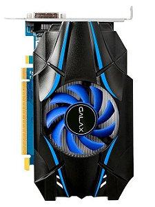 Placa de Vídeo VGA NVIDIA Galax GEFORCE GT 1030 2GB GDDR5 64Bits - 30NPH4HVQ4ST
