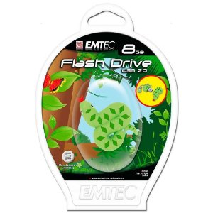 Pen Drive Emtec 8gb Jungle Snake Usb 2.0