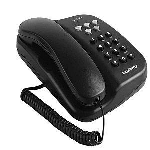 Telefone Com Fio TC500 Preto - Intelbras
