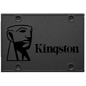 SSD Kingston 2.5´ 240GB A400 SATA III Leituras: 500MBs / Gravações: 320MBs - SA400S37/240G