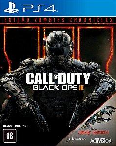 Call of Duty: Black Ops III (Edição Zombies Chronicles) - PS4