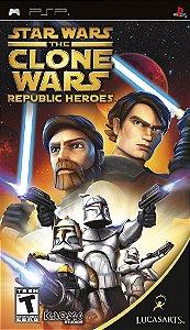 Star Wars: The Clone Wars Republic Heroes - PSP