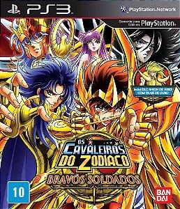 Os Cavaleiros do Zodíaco: Bravos Soldados - PS3