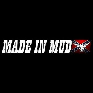 Adesivos Made In Mud Clássico (Médio 4,5x29)