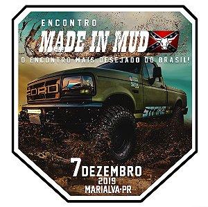 Adesivos Grande do Encontro Made in Mud Marialva-PR  (Compre 5 leve 6)