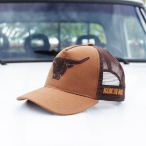 Boné Made in Mud Brown Trucker