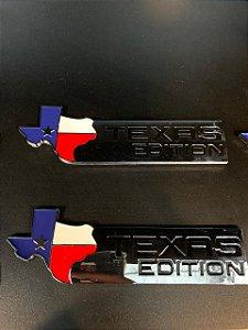 Emblema Texas Edition - Cromado