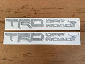 Par Adesivos TRD OFF ROAD Made in Mud
