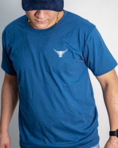 Camiseta Basic Made in Mud Azul