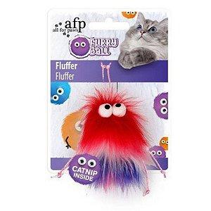 Brinquedo para Gato Furry Ball Fluffer - com Catnip
