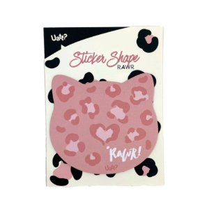 Sticker Post-it - Shape Gatinha Rawr