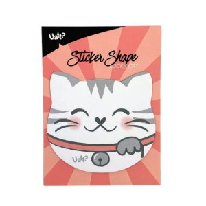Sticker Post-it - Shape Lucky Cat