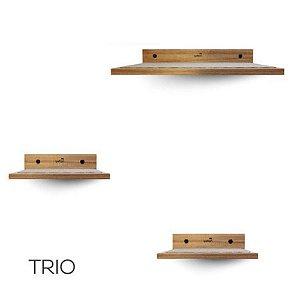 Trio de Prateleiras para gato - HomeCat - Kit com 3