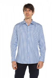 Camisa manga longa Xadrez - Piction Blue