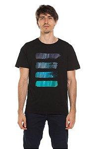Camiseta Pantone - Preta