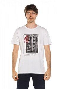 Camiseta Blocos - Branca
