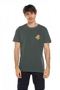 Camiseta Ilha caveira - Dark Fern