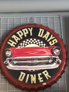 TAMPA DECORATIVA HAPPY DAY METAL