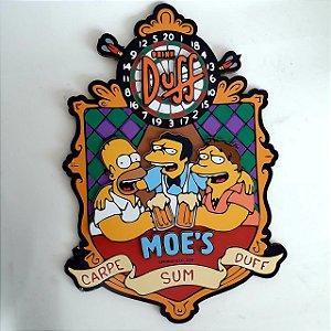 Quadro Alto Relevo MDF Duff Moe's