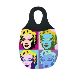 LIXEIRA DE CARRO EM NEOPRENE - Fotos Marilyn Monroe