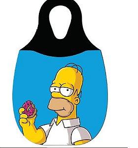 LIXEIRA DE CARRO EM NEOPRENE - Homer Simpson comendo rosca