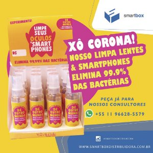 SPRAY LIMPA TELAS 30ML
