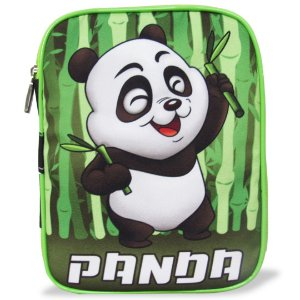 Estojo Escolar Infantil 100 Pens Panda