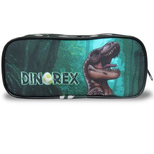 Estojo Infantil Escolar Dino-rex
